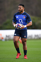 Rugby Union - 2020 Six Nations Championship - England Training Session & Press Conference pre-Ireland<br /> <br /> England's Manu Tuilagi, at Pennyhill Park Hotel.<br /> <br /> COLORSPORT/ASHLEY WESTERN