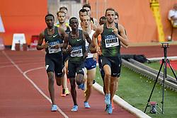 July 20, 2018 - Monaco - 1000 metres homme - Andreas Kramer (Suede) - Solomon Lekuta (Kenya) - Do Rosario Andre  (Credit Image: © Panoramic via ZUMA Press)