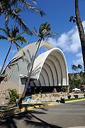 Waikiki Shell ampitheater. Waikiki, Hawaii RIGHTS MANAGED LICENSE AVAILABLE FROM www.PhotoLibrary.com