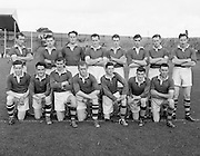Neg No...598/8145-8149...1954AIJFCF...12.09.1954, 09.12.1954, 12th September 1954..All Ireland Junior Football Championship - Home Final..Kerry.3-6.Donegal.1-6...Kerry. ..N. Hussey, T. Spillane, J. O'Connor, T. Healy, T. Costello, J. Spillone, D. Falvey, E. Fitzgerald, D. Dillon, J. Cullotly, T. Collins, S. Lovett, P. P. Fitzgerald, E. Dowling, B. Galvin..... . .