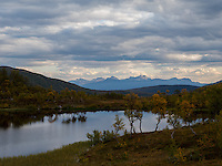Autumn landscape, North-Norway