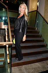 TAMARA BECKWITH at the Launch of Pont St Restaurant at Belgraves Hotel, 20 Chesham Place, London SW1 on 10th September 2013.