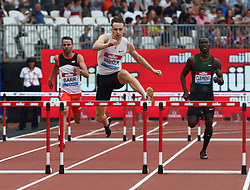 July 21, 2018 - London, United Kingdom - Karsten Warholm of Norway(Winner) compete in the 400m Men during the Muller Anniversary Games IAAF Diamond League Day One at The London Stadium on July 21, 2018 in London, England. (Credit Image: © Action Foto Sport/NurPhoto via ZUMA Press)