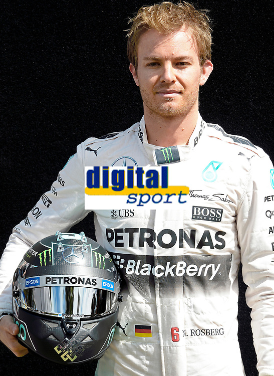 ROSBERG nico (ger) mercedes gp mgp w06 ambiance portrait during 2015 Formula 1 championship at Melbourne, Australia Grand Prix, from March 13th to 15th. Photo DPPI / Eric Vargiolu.