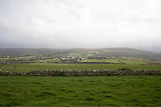 Landscape looking inland at Dinas Head near Newport, Pembrokeshire, Wales, United Kingdom.