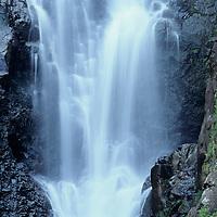 Hawaii, Molokai, Halawa Waterfall