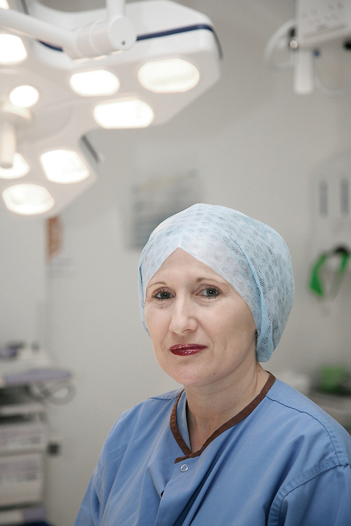 portrait of a surgeon in surgery