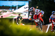 #1 (WILLOUGHBY Alise) USA [GW, TLD, Toyota] at Round 7 of the 2019 UCI BMX Supercross World Cup in Rock Hill, USA