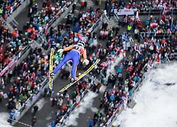 05.02.2017, Heini Klopfer Skiflugschanze, Oberstdorf, GER, FIS Weltcup Ski Sprung, Oberstdorf, Skifliegen, im Bild Philipp Aschenwald (AUT) // Philipp Aschenwald of Austria during mens FIS Ski Flying World Cup at the Heini Klopfer Skiflugschanze in Oberstdorf, Germany on 2017/02/05. EXPA Pictures © 2017, PhotoCredit: EXPA/ Peter Rinderer