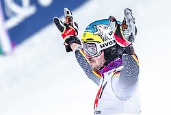 """29.01.2019, Planai, Schladming, AUT, FIS Weltcup Ski Alpin, Slalom, Herren, 2. Lauf, im Bild Felix Neureuther (GER) // Felix Neureuther of Germany reacts after his 2nd run of men's Slalom """"the Nightrace"""" of FIS ski alpine world cup at the Planai in Schladming, Austria on 2019/01/29. EXPA Pictures © 2019, PhotoCredit: EXPA/ JFK"""
