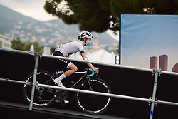 Niamh Fisher-Black (NZL) at the 2020 La Course By Le Tour with FDJ, a 96 km road race in Nice, France on August 29, 2020. Photo by Sean Robinson/velofocus.com