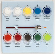 painting by number paint set