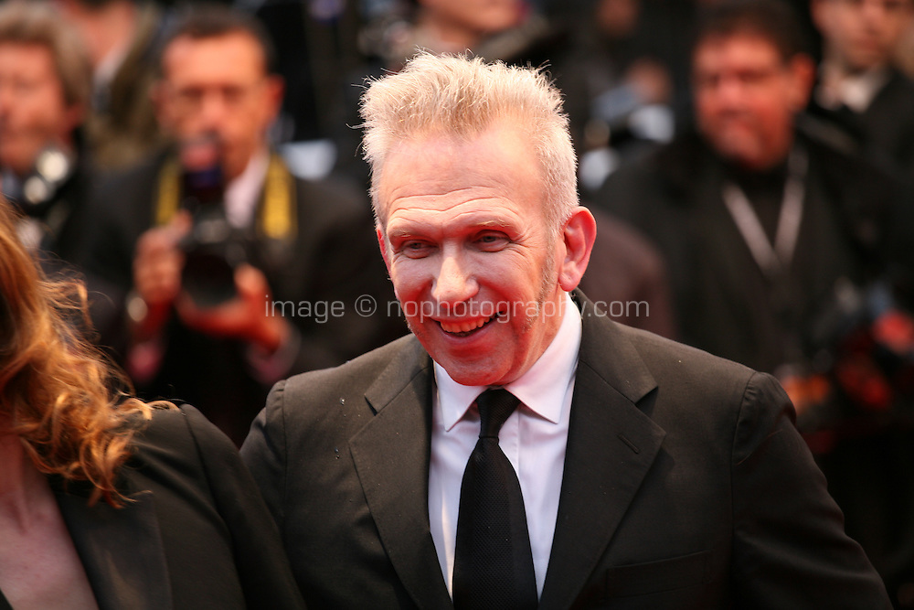 Jean Paul Gaultier attending the gala screening of Amour at the 65th Cannes Film Festival. Sunday 20th May 2012 in Cannes Film Festival, France.