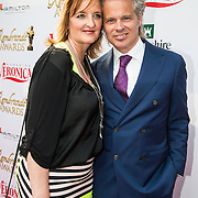 NLD/Amstedam//20140602 - Rembrandt Awards 2014, Norman Bonnink en partner ....