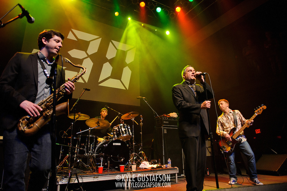 Washington, D.C. - May 31, 2010:  The Pietasters perform at the 30th Anniversary concert at the legendary 9:30 Club. (Photo by Kyle Gustafson/For The Washington Post)