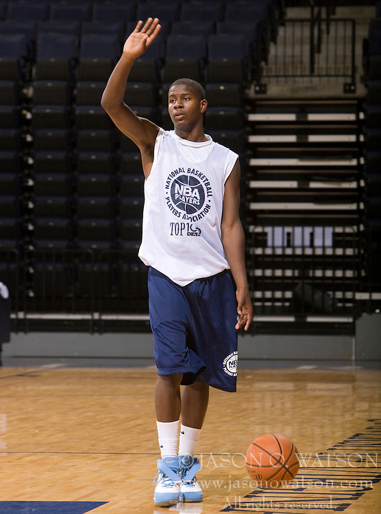 PG Josh Selby (Hyattsville, MD / DeMatha).  The NBA Player's Association held their annual Top 100 basketball camp at the John Paul Jones Arena on the Grounds of the University of Virginia in Charlottesville, VA on June 19, 2008