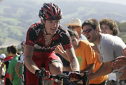 29.08.2011, Andalusien, ESP, LA VUELTA 2011, Stage 17, im Bild Mathias Frank during the stage of La Vuelta 2011 between Faustino V and Pena Cabarga.September 7,2011. EXPA Pictures © 2011, PhotoCredit: EXPA/ Alterphoto/ Paola Otero +++++ ATTENTION - OUT OF SPAIN/(ESP) +++++