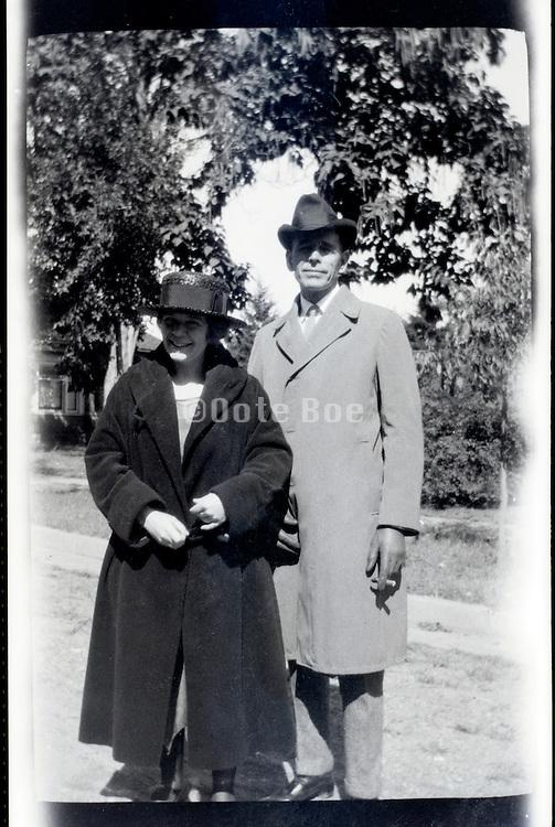 husband and wife USA 1920s 1930s