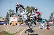 #593 (CAMPO Alfredo) ECU.  at Round 9 of the 2019 UCI BMX Supercross World Cup in Santiago del Estero, Argentina
