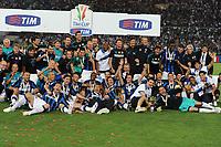 Inter vince la Tim Cup<br /> Inter vs Palermo 3-1<br /> Tim Cup, finale di Coppa Italia di calcio<br /> Stadio Olimpico, Roma, 29/05/2011<br /> Photo Antonietta Baldassarre Insidefoto