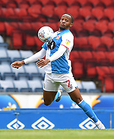 Blackburn Rovers' Ryan Nyambe<br /> <br /> Photographer Dave Howarth/CameraSport<br /> <br /> The EFL Sky Bet Championship - Blackburn Rovers v West Bromwich Albion - Saturday 11th July 2020 - Ewood Park - Blackburn <br /> <br /> World Copyright © 2020 CameraSport. All rights reserved. 43 Linden Ave. Countesthorpe. Leicester. England. LE8 5PG - Tel: +44 (0) 116 277 4147 - admin@camerasport.com - www.camerasport.com