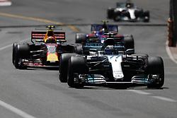 May 28, 2017 - Monte Carlo, Monaco - VALTTERI BOTTAS of Finland and Mercedes AMG Petronas F1 Team drives during the 2017 Formula 1 Monaco Grand Prix in Monte Carlo, Monaco. (Credit Image: © James Gasperotti via ZUMA Wire)