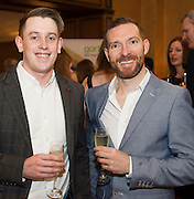 Eamonn McManus and Cathal O Conaire Indreabhain at the Gorta Self Help Africa Annual Ball in Hotel Meyrick Galway City. Photo: Andrew Downes, XPOSURE.