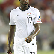USA forward Jozy Altidore (17) during a  CONCACAF Gold Cup soccer match between the United States and Panama on Saturday, June 11, 2011, at Raymond James Stadium in Tampa, Fla. (AP Photo/Alex Menendez)
