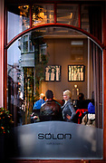 Salon cafe, resturant & club on Laugavegur Street.