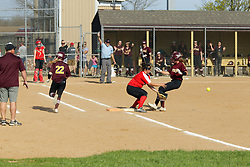 22 April 2019:   Dee Mack Chiefs at Le Roy Panthers girls varsity softball at the softball field in Le Roy Illinois<br /> <br /> (Photo by Alan Look)
