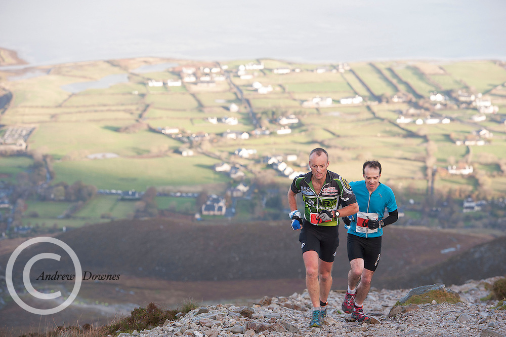 08/11/2014 repro free Participants who took part in the Sea 2 Summit adventure race in Westport Co. Mayo. Photo:Andrew Downes