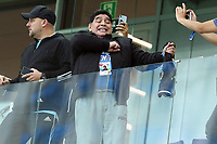 Diego Armando Maradona in the tribune before the match <br /> Nizhny Novgorod 21-06-2018 Football FIFA World Cup Russia  2018 <br /> Argentina - Croatia / Argentina - Croazia <br /> Foto Matteo Ciambelli/Insidefoto
