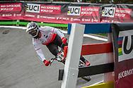 #38 (MATSUSHITA Tatsumi) JPN during practice at Round 5 of the 2018 UCI BMX Superscross World Cup in Zolder, Belgium