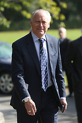 © Licensed to London News Pictures. 30/09/2015. Leeds, UK. Picture shows Colin Graves of the ECB. A Remembrance service has taken place for former Yorkshire & England cricket captain Brian Close. Mr Close died at his home in Baildon aged 84 after a long battle with cancer. Photo credit: Andrew McCaren/LNP