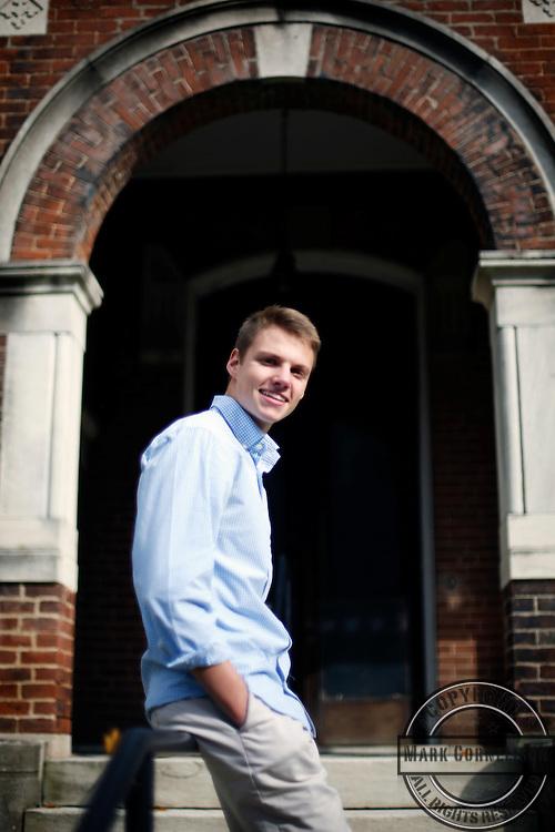 Grant Brockman  on Sunday October 25, 2015 in Lexington, KY. Photo by Mark Cornelison   Staff