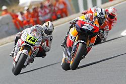 04.07.2010, Montmelo, Barcelona, ESP, MotoGP, Grand Prix von Katalonien im Bild Dani Pedrosa - Repsol Honda team, EXPA Pictures © 2010, PhotoCredit: EXPA/ InsideFoto/ Semedia *** ATTENTION *** FOR AUSTRIA AND SLOVENIA USE ONLY! / SPORTIDA PHOTO AGENCY