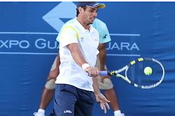 Final do tenis entre Rogerio Dutra (Brasil) e Robert Farah (Colombia) nos jogos Pan-Americanos de Guadalajara 2011. FOTO: Jefferson Bernardes/Preview.com