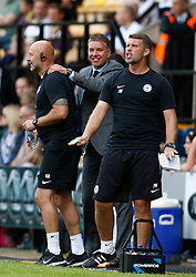 Peterborough manager Darren Ferguson celebrates the fourth goal  - Photo mandatory by-line: Matt Bunn/JMP - Tel: Mobile: 07966 386802 10/08/2013 - SPORT - FOOTBALL -  Meadow Lane - Nottinghamshire -  Notts County v Peterborough United - Sky Bet League 1