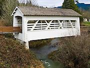 Sandy Creek Covered Bridge, Myrtle Point, Oregon, USA