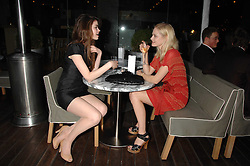 Left to right, CLAUDIA COOPPER and model ANNABELLE HORSEY  at an Evening at Sanderson in Aid of CLIC Sargent held at The Sanderson Hotel, 50 Berners Street, London W1 on 15th May 2007.<br /><br />NON EXCLUSIVE - WORLD RIGHTS