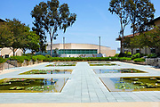 Reflection Pools on the Grounds of Soka University