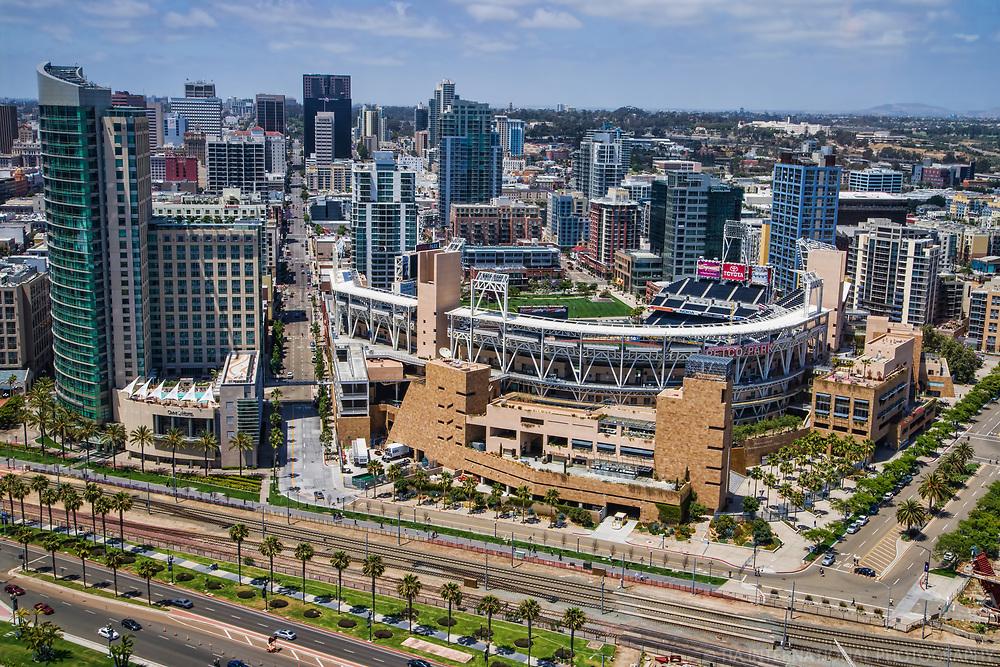 PETCO Park, Home of the San Diego Padres  Baseball Team (MLB)