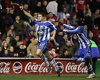 Fotball<br /> England<br /> Middlesbrough v Wigan<br /> Foto: imago/Digitalsport<br /> NORWAY ONLY<br /> <br /> 21.01.2006<br /> <br /> Neil Mellor (li.) und Pascal Chimbonda (beide Wigan)