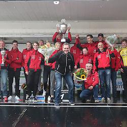 30-09-2017: Wielrennen: Nederlands kampioenschap clubteams: Dronten<br />Jan van Arkel won het overall klassment