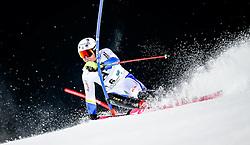 26.01.2016, Planai, Schladming, AUT, FIS Weltcup Ski Alpin, Schladming, Slalom, Herren, 1. Durchgang, im Bild Mattias Hargin (SWE) // Mattias Hargin of Sweden competes during his 1st run of men's Slalom Race of Schladming FIS Ski Alpine World Cup at the Planai in Schladming, Austria on 2016/01/26. EXPA Pictures © 2016, PhotoCredit: EXPA/ Johann Groder