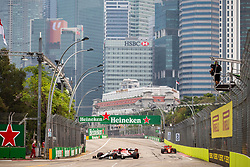 September 20, 2019, Singapore, Singapore: Motorsports: FIA Formula One World Championship 2019, Grand Prix of Singapore, .#99 Antonio Giovinazzi (ITA, Alfa Romeo Racing) (Credit Image: © Hoch Zwei via ZUMA Wire)