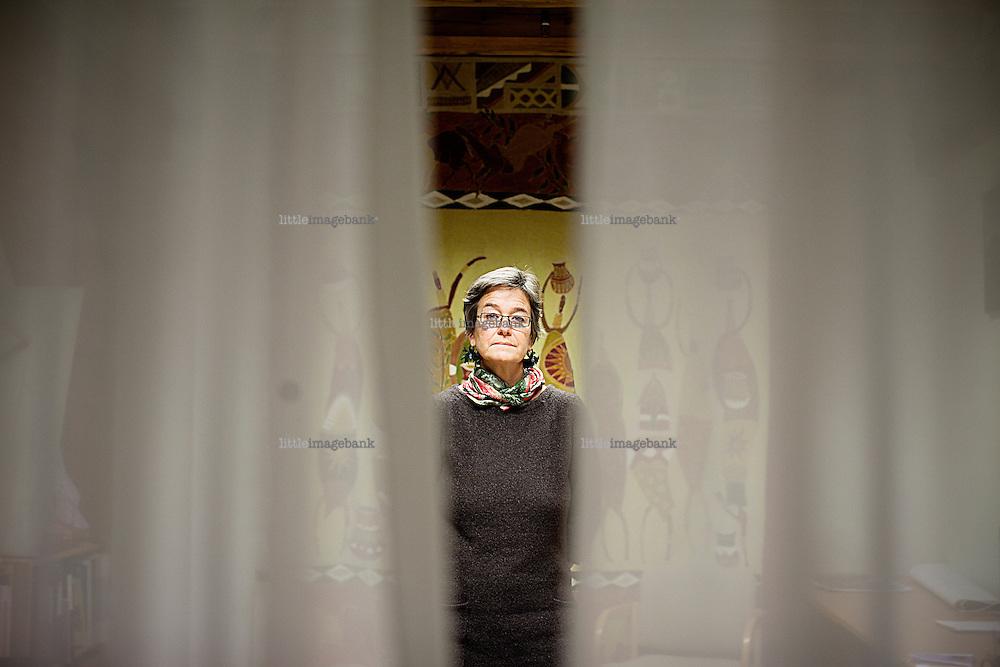 Oslo, Norge, 19.01.2012. Åse Merete Bitustøl snakker om behandlingen de opplevde fra norsk UD i kjølvannet av drapet på mannen hennes i Jemen. Foto: Christopher Olssøn.
