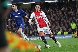 November 5, 2019: AMSTERDAM, NETHERLANDS - OCTOBER 22, 2019: Lisandro Martinez (Ajax) pictured during the 2019/20 UEFA Champions League Group H game between Chelsea FC (England) and AFC Ajax (Netherlands) at Stamford Bridge. (Credit Image: © Federico Guerra Maranesi/ZUMA Wire)