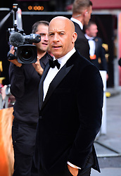 Vin Diesel attending Disney's The Lion King European Premiere held in Leicester Square, London.