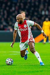 Ryan Babel #49 of Ajax in action during the match between Ajax and PSV at Johan Cruyff Arena on February 02, 2020 in Amsterdam, Netherlands